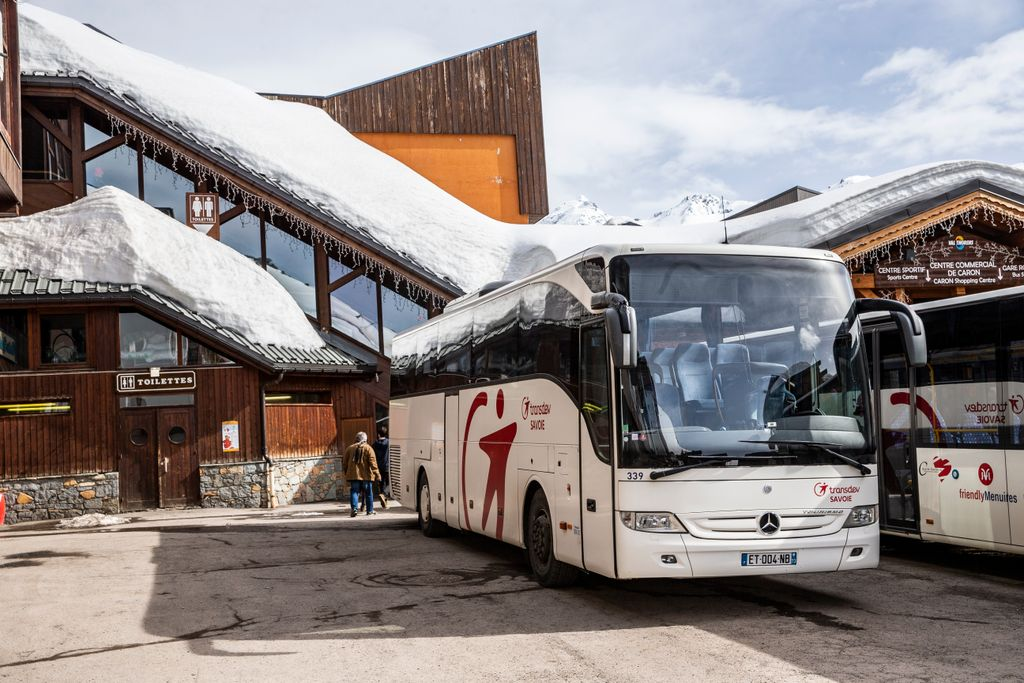 busreis wintersport