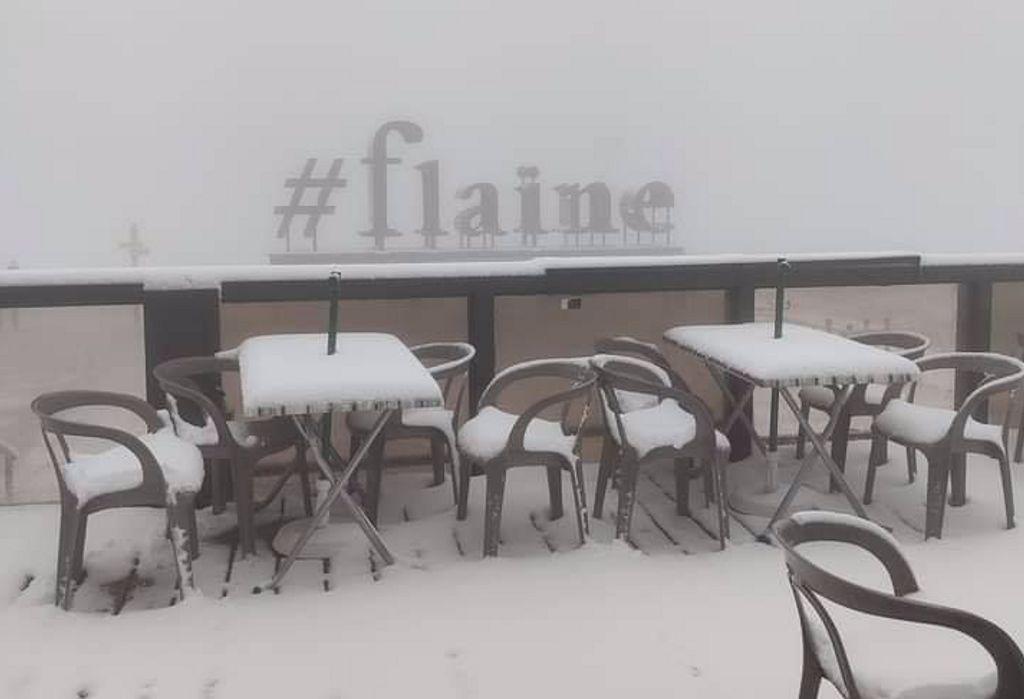 Sneeuw in Flaine