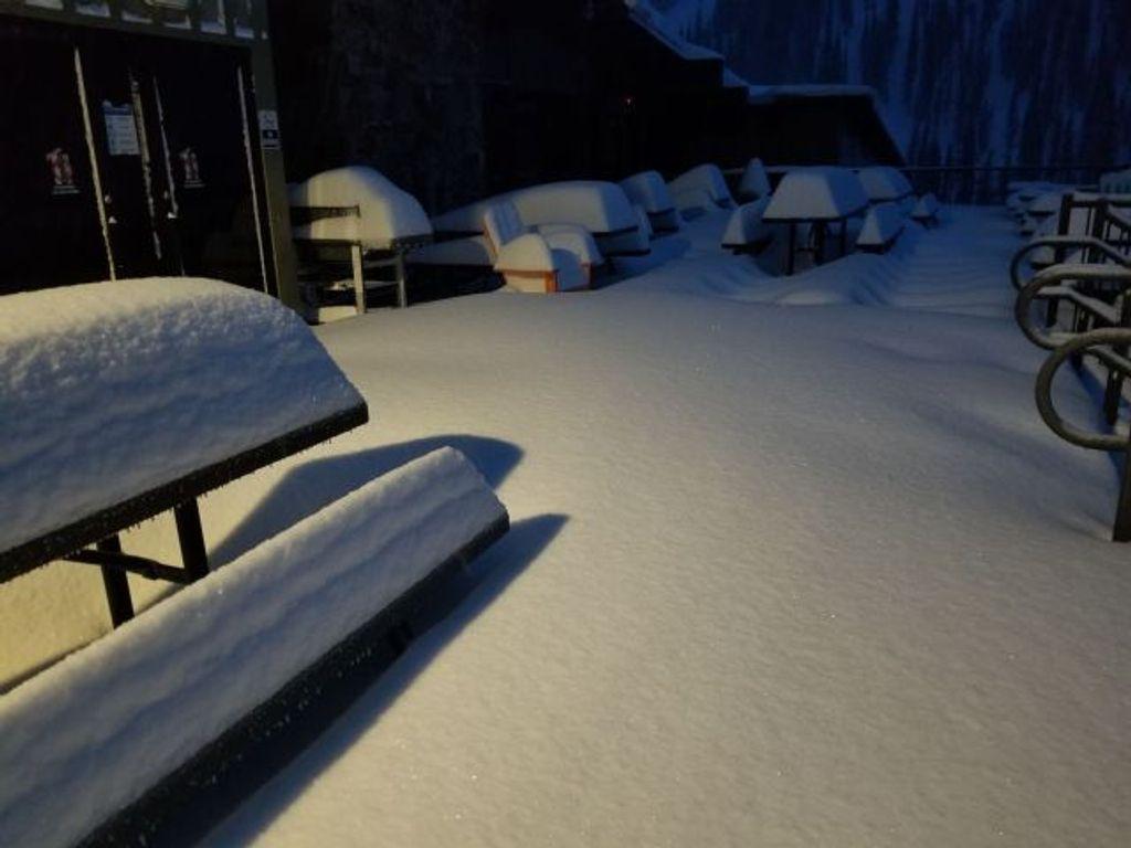 Veel sneeuw in Colorado