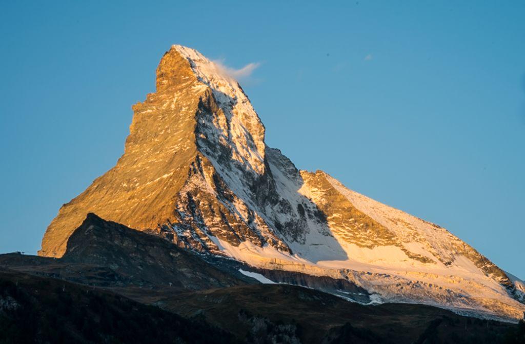 De Matterhorn boven Zermatt