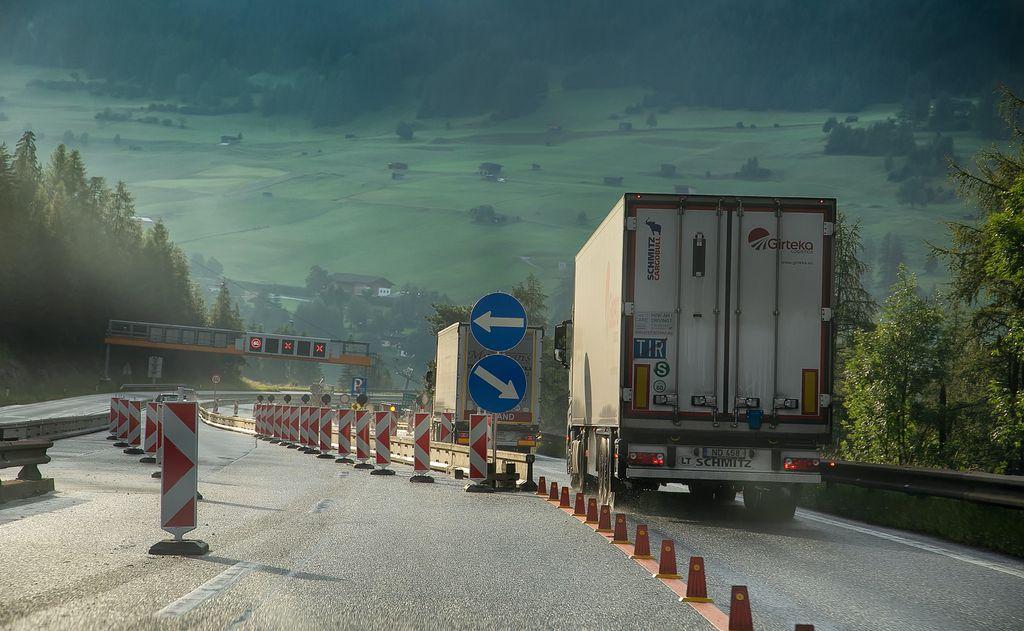 De Brenner Autobahn