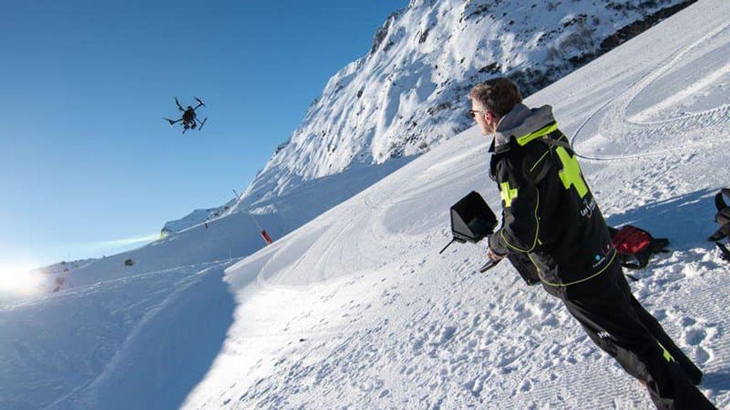 Drones zullen pisteurs gaan bijstaan in Val Thorens