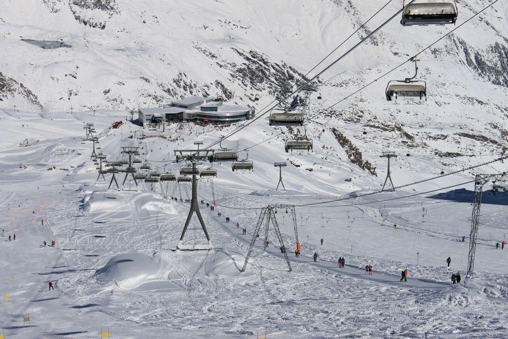 Stubaier Gletscher herfst
