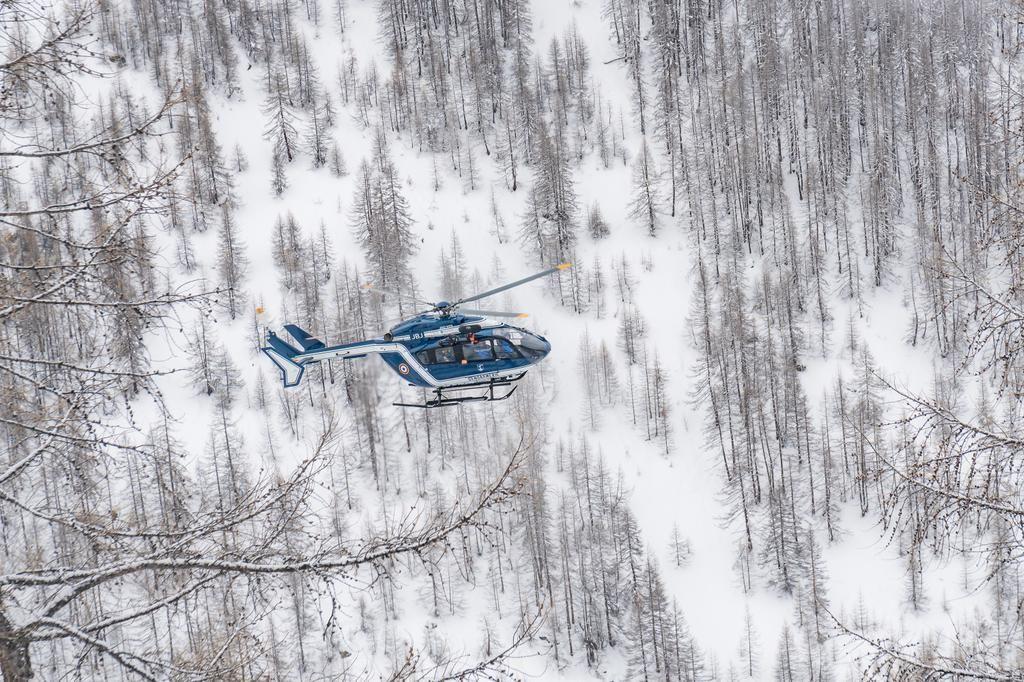 Franse bergreddingshelikopter