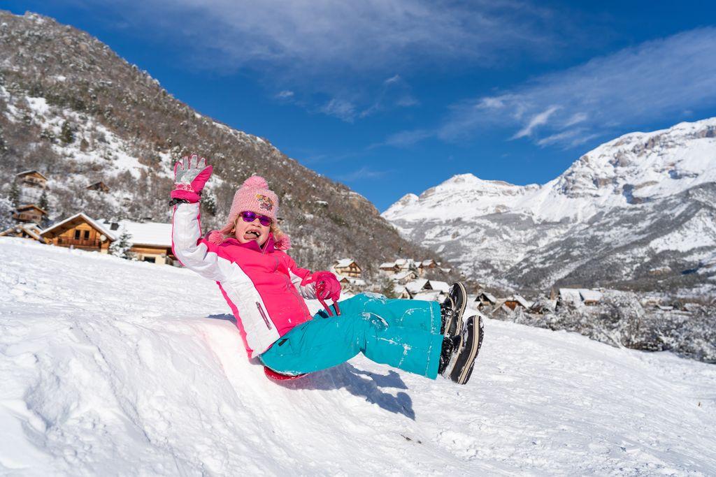 sleeën franse alpen