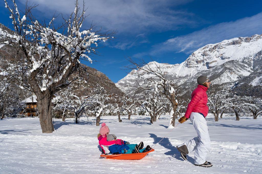 slee franse alpen