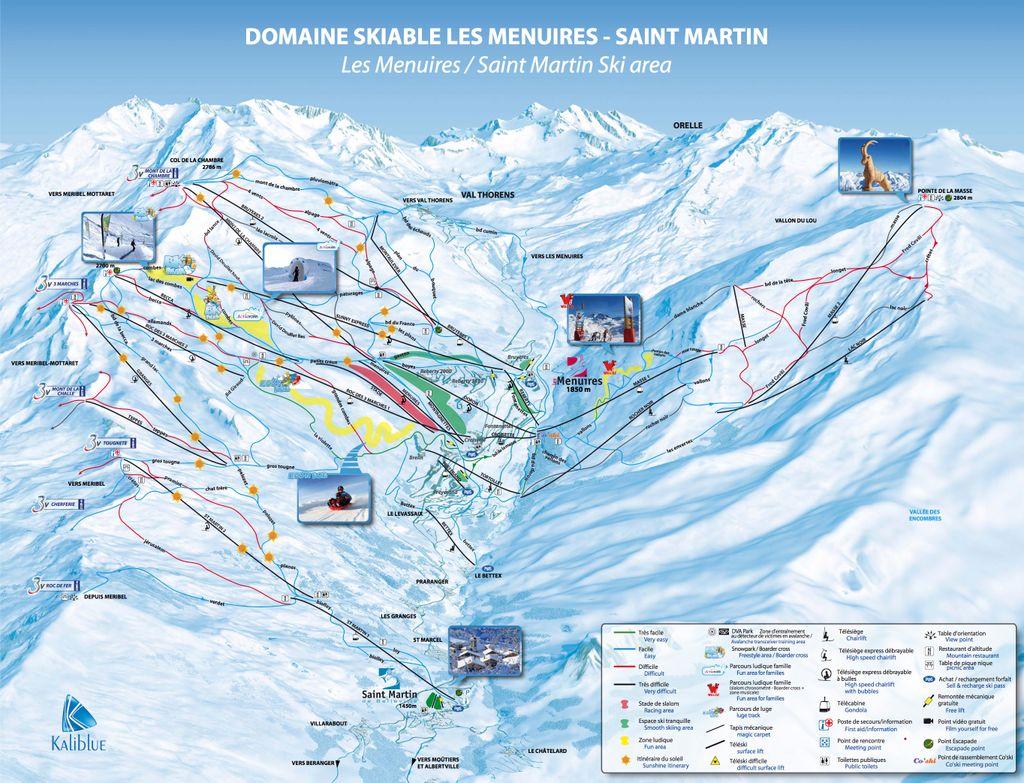 Les Menuires - Saint Martin