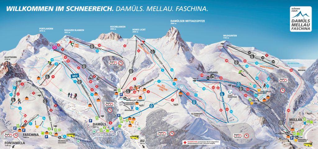 Damüls - Mellau - Faschina (2018-2019)