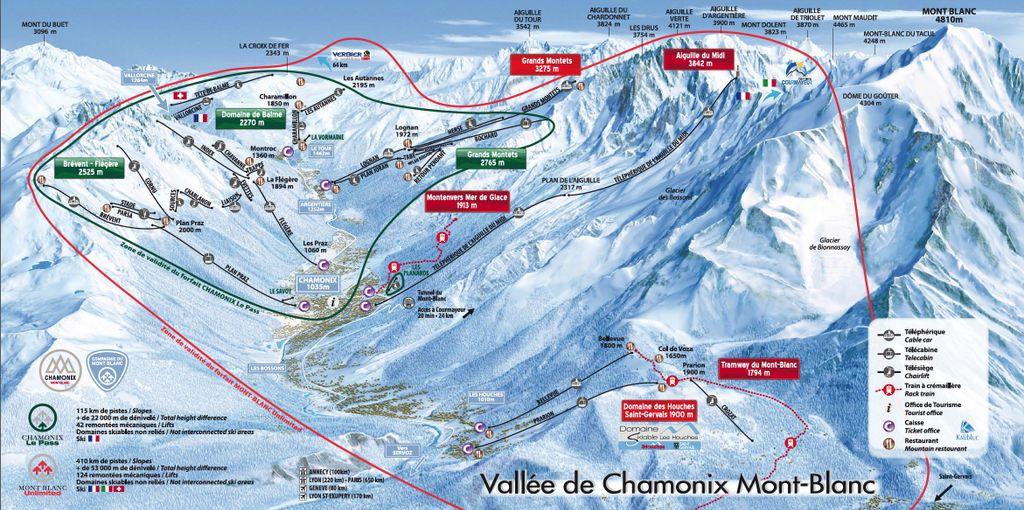 Chamonix vallei