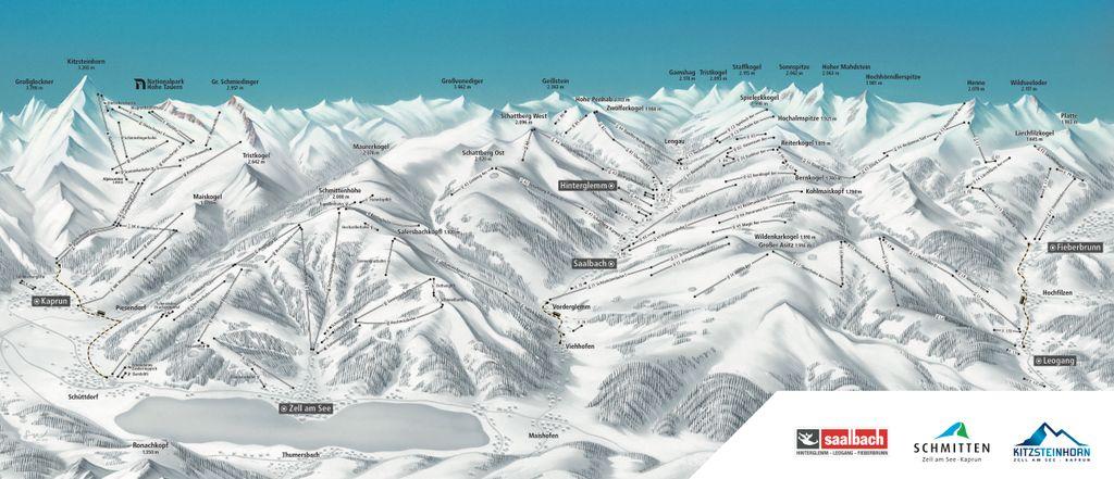 Pistekaart Ski Alpin Card