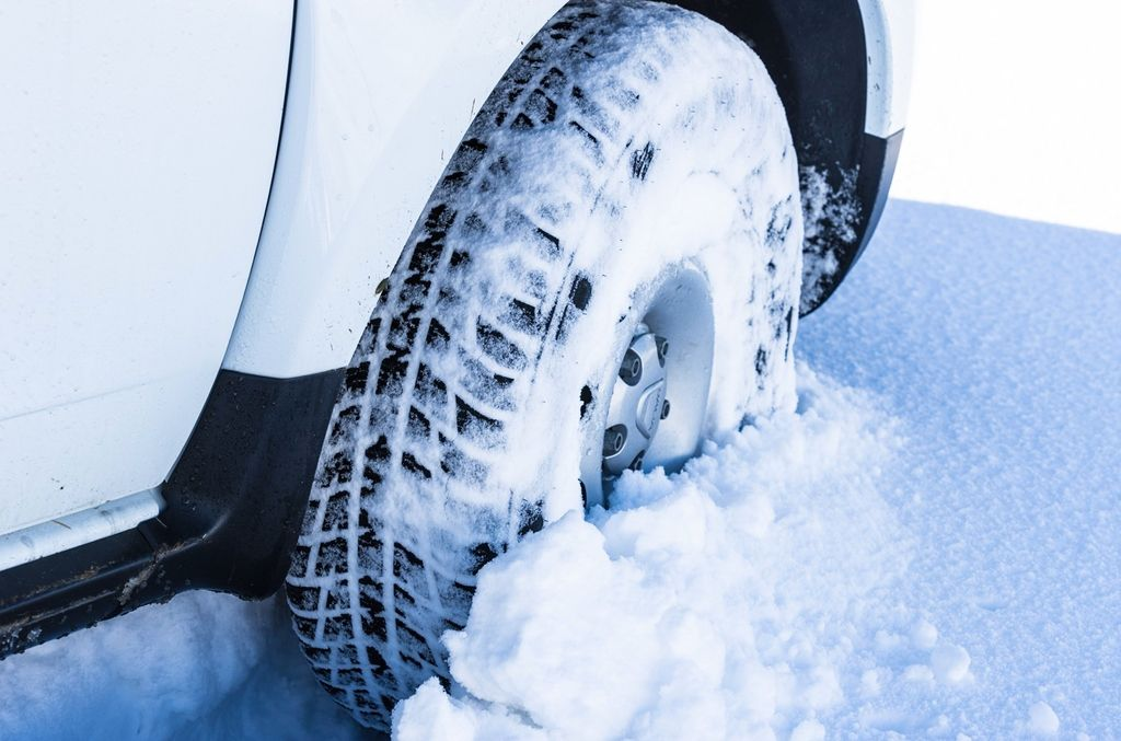 Rijden in de sneeuw
