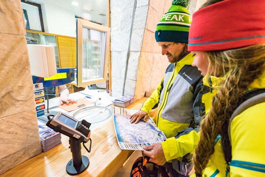 Ski informatie over de skipas