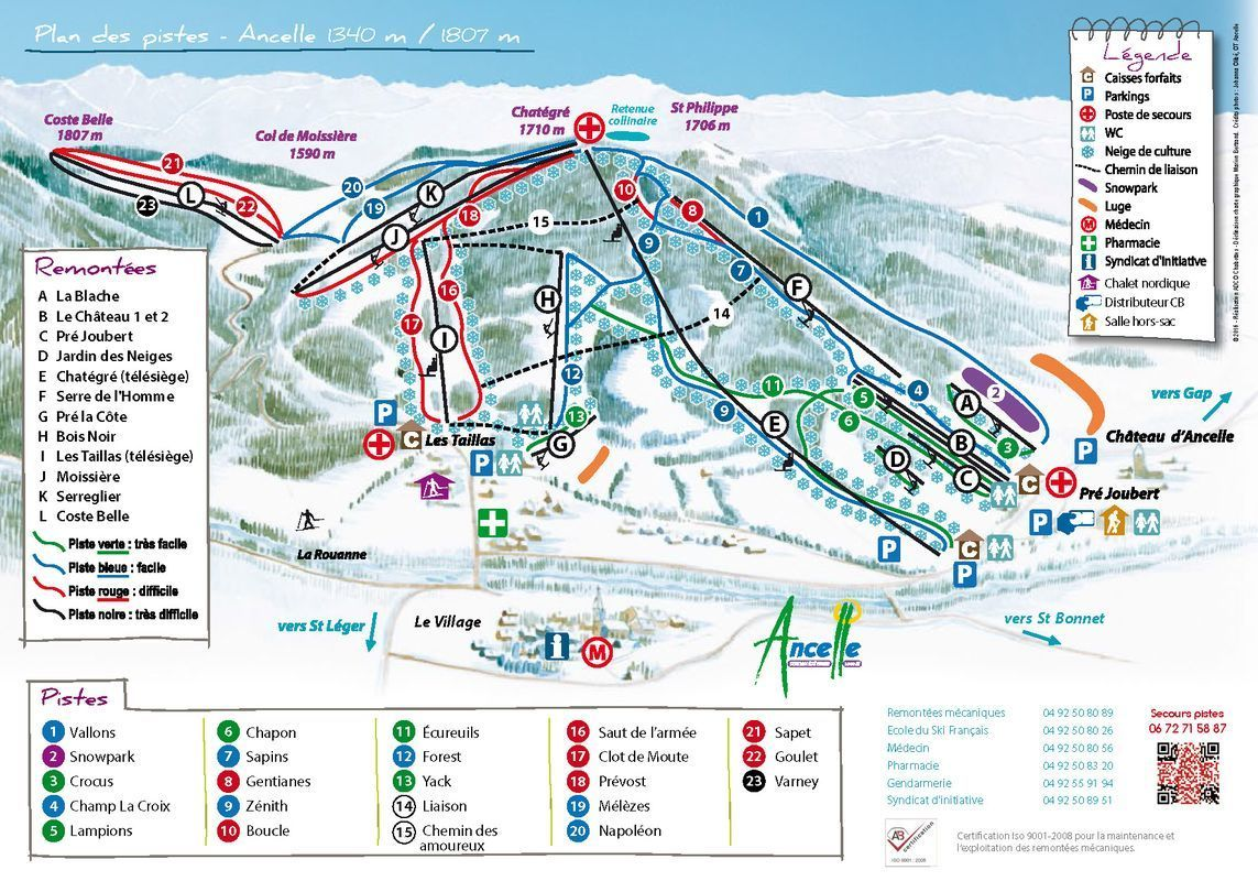 R allon skigebied met 30 km piste in frankrijk - Office du tourisme les contamines montjoie ...