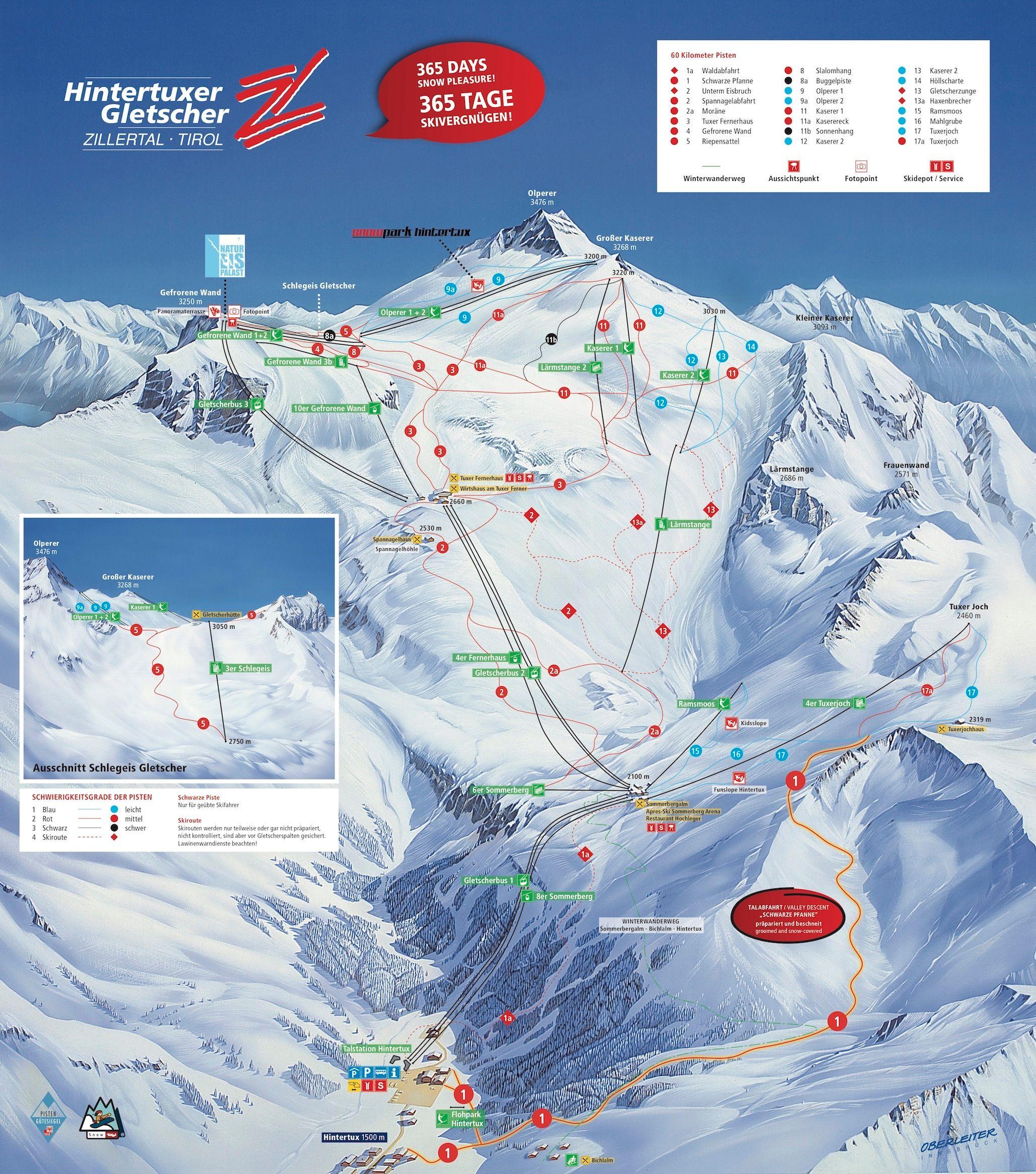 Hintertuxer Gletscher (2018-2019)