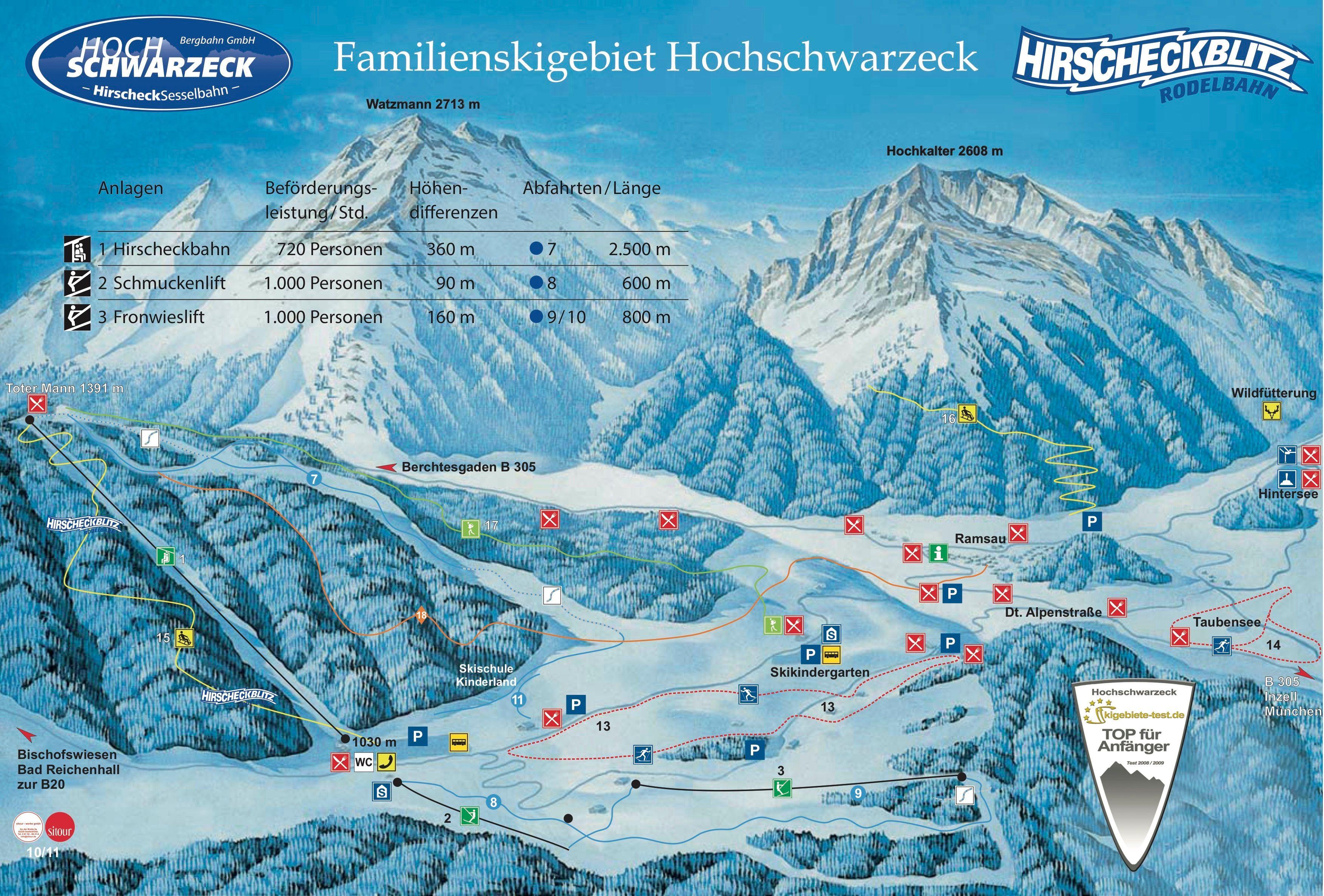 Hochschwarzeck - Ramsau