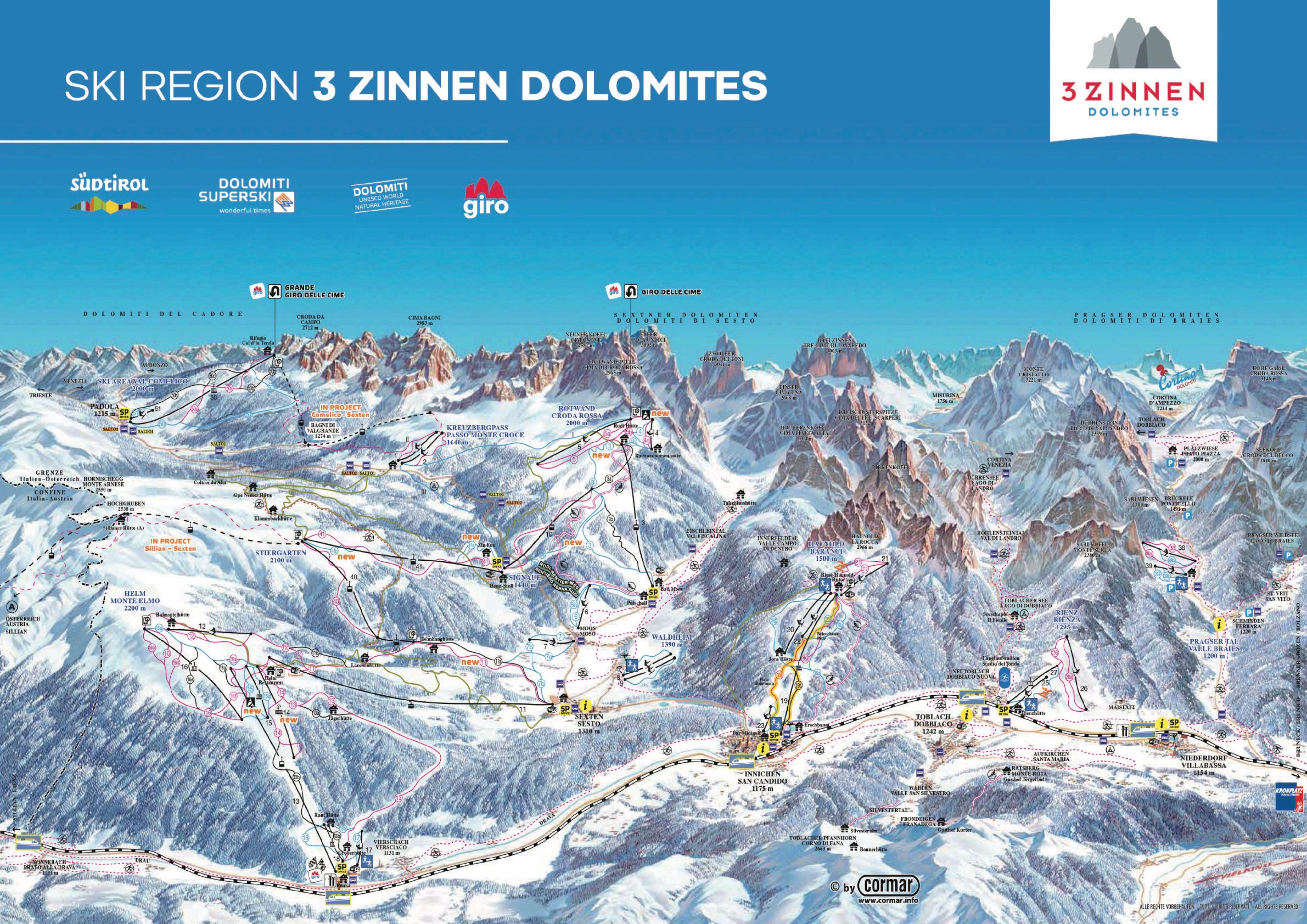 Drei Zinnen Dolomiten (2018-2019)