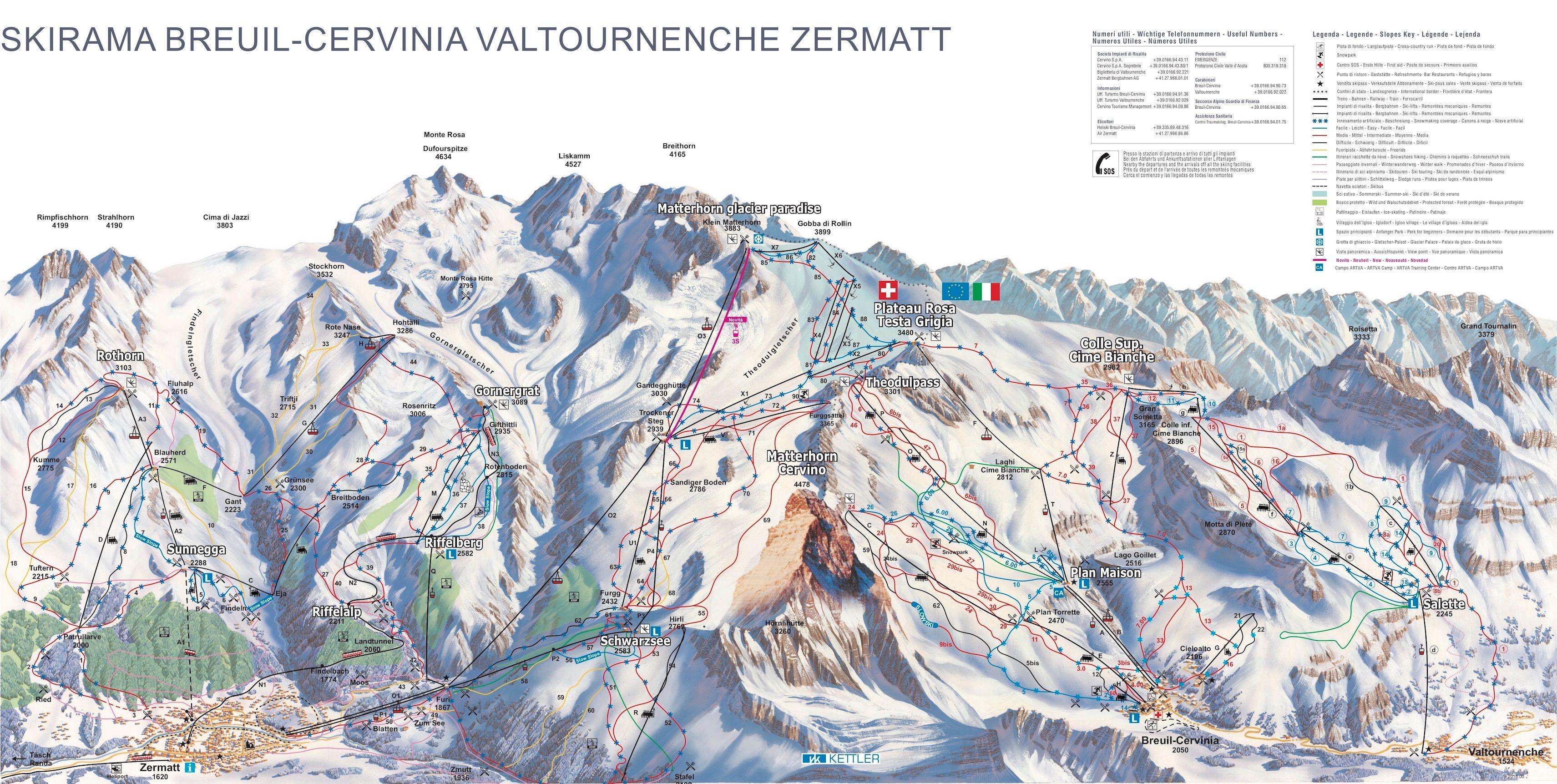 Zermatt - Breuil-Cervinia (2018-2019)