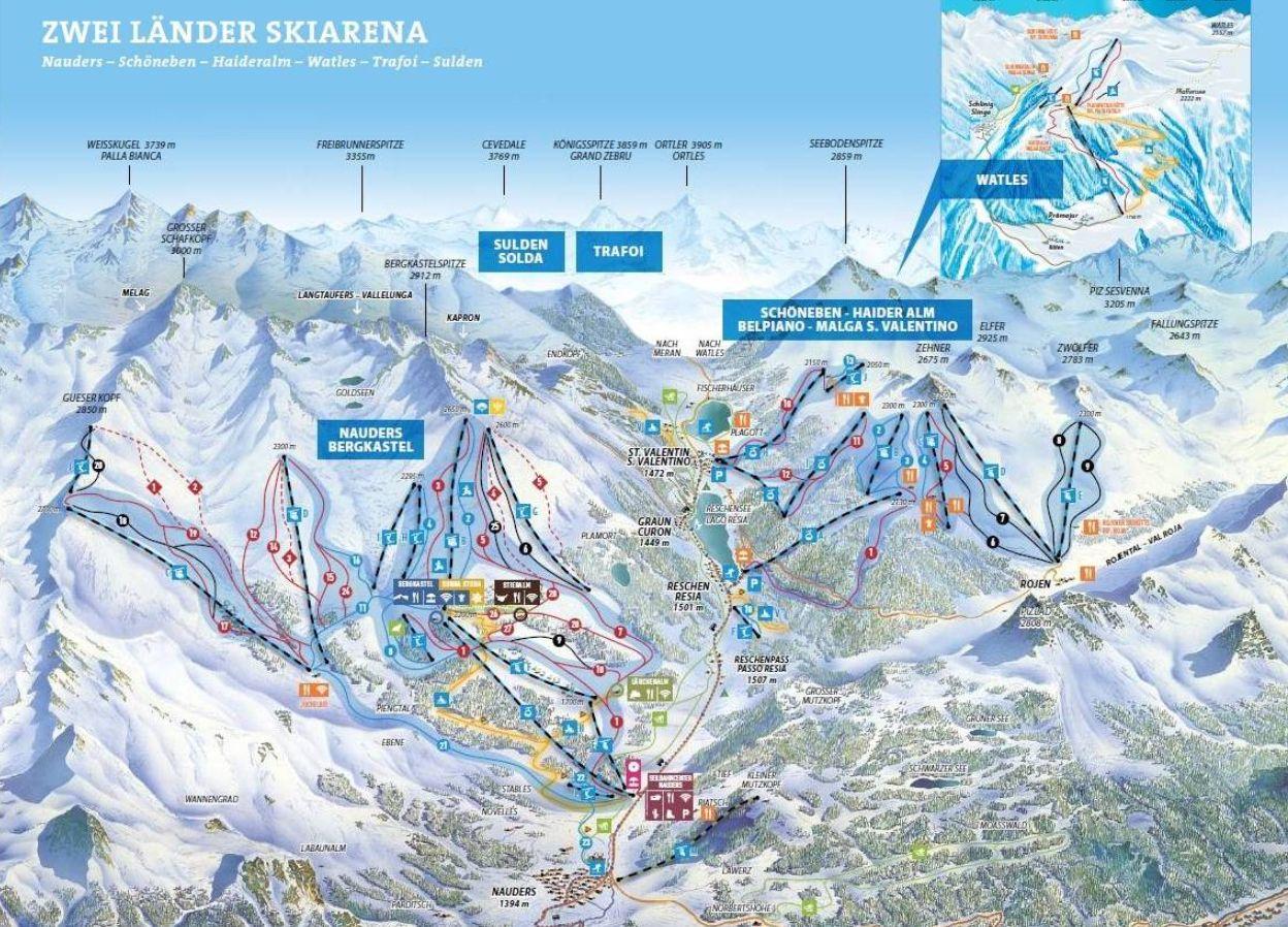 Zwei Länder Skiarena (2018-2019)