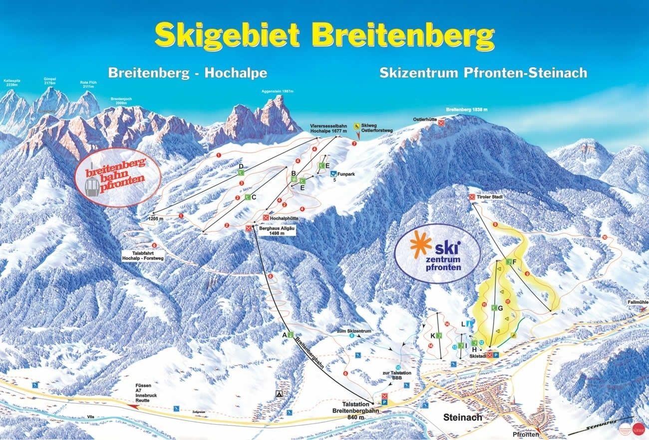 Breitenberg - Hochalpe