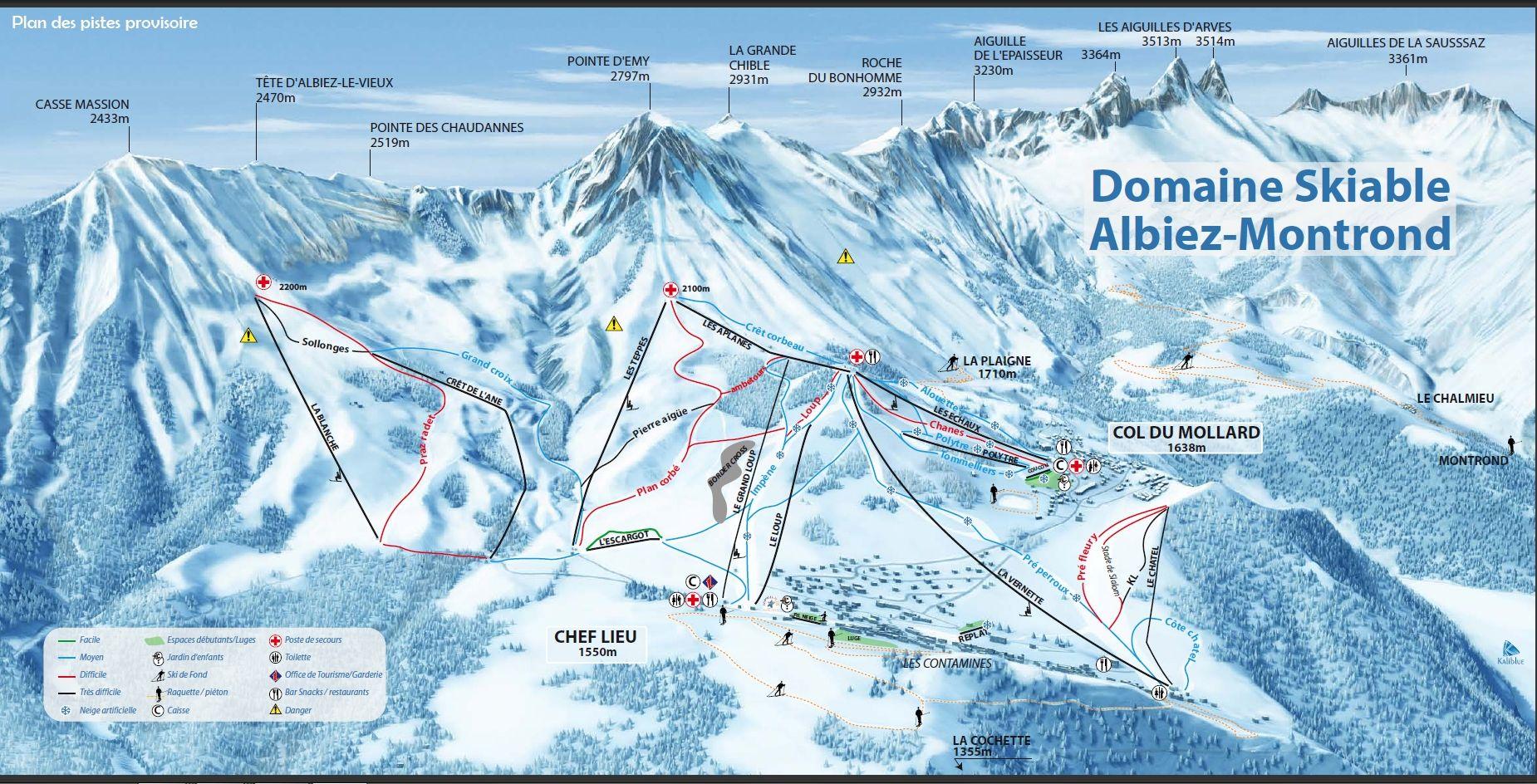Les Albiez - Montrond