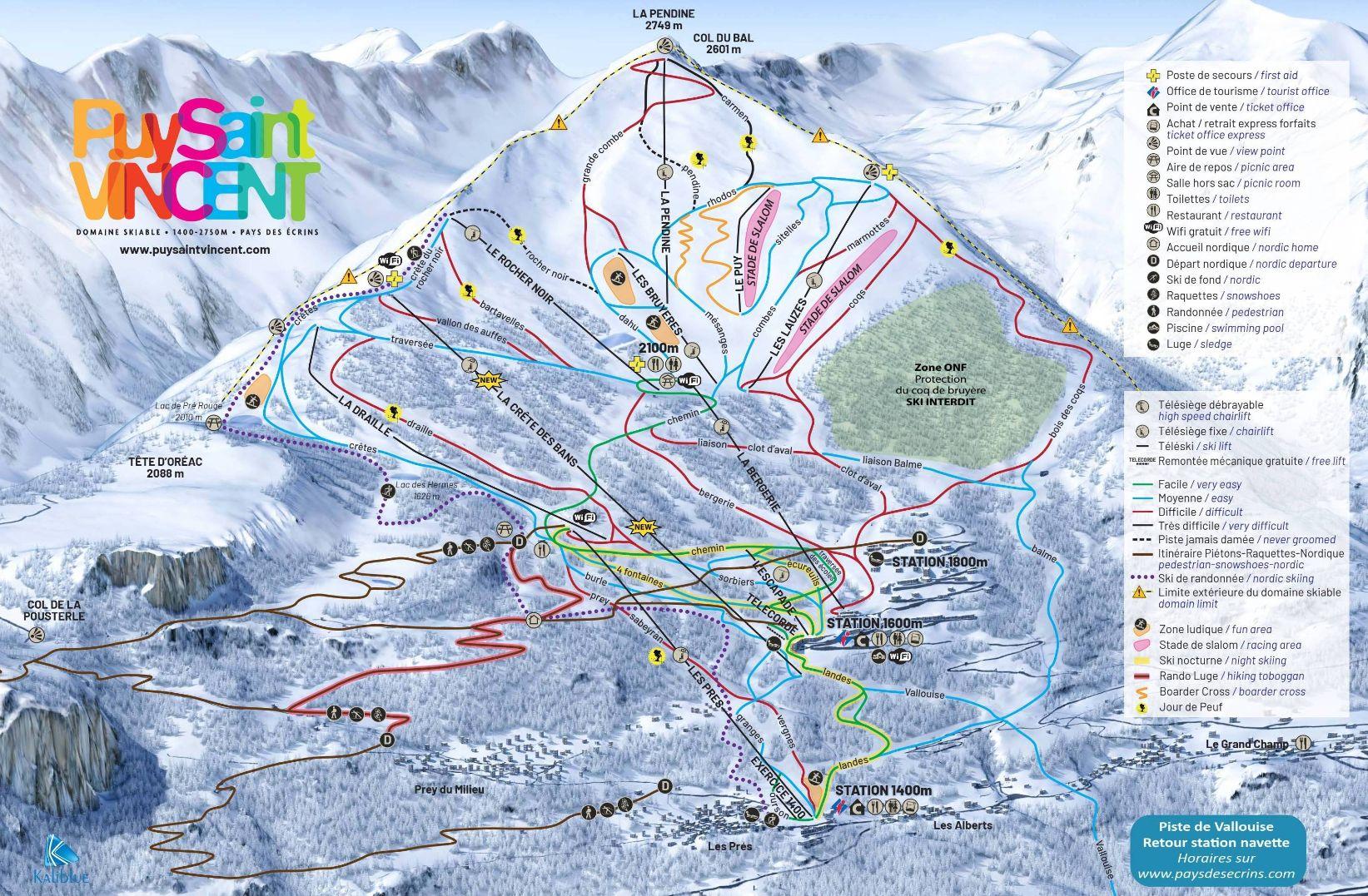 Puy Saint Vincent (2018-2019)