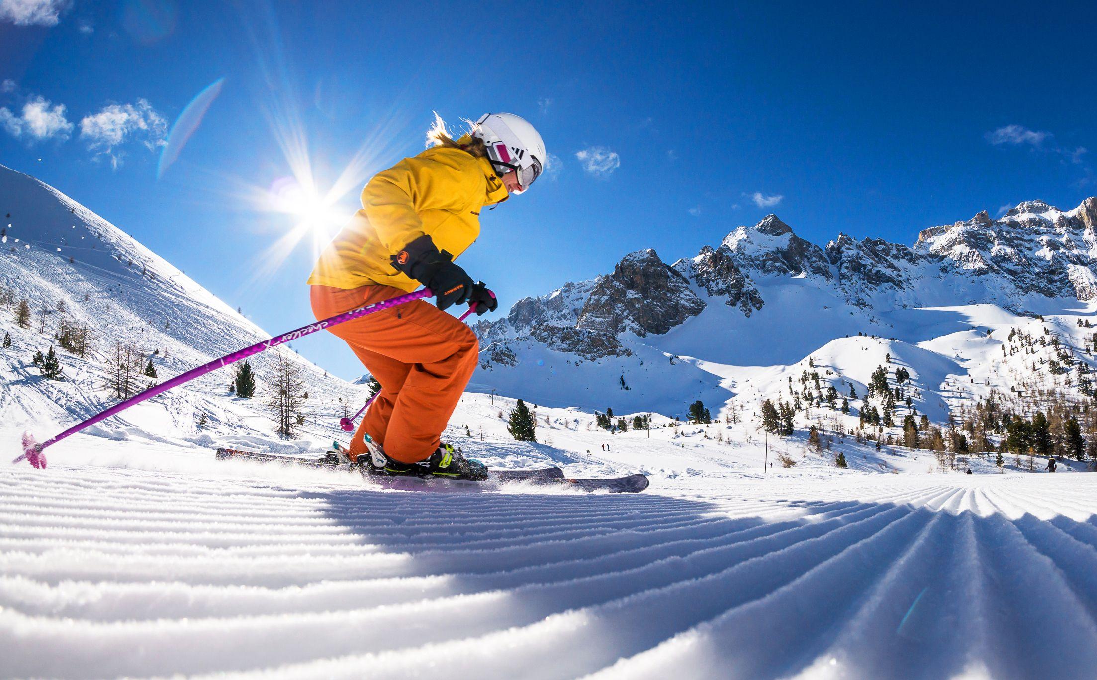 Stelling: hoe beter je skiet, hoe kleiner het gebied mag zijn ...