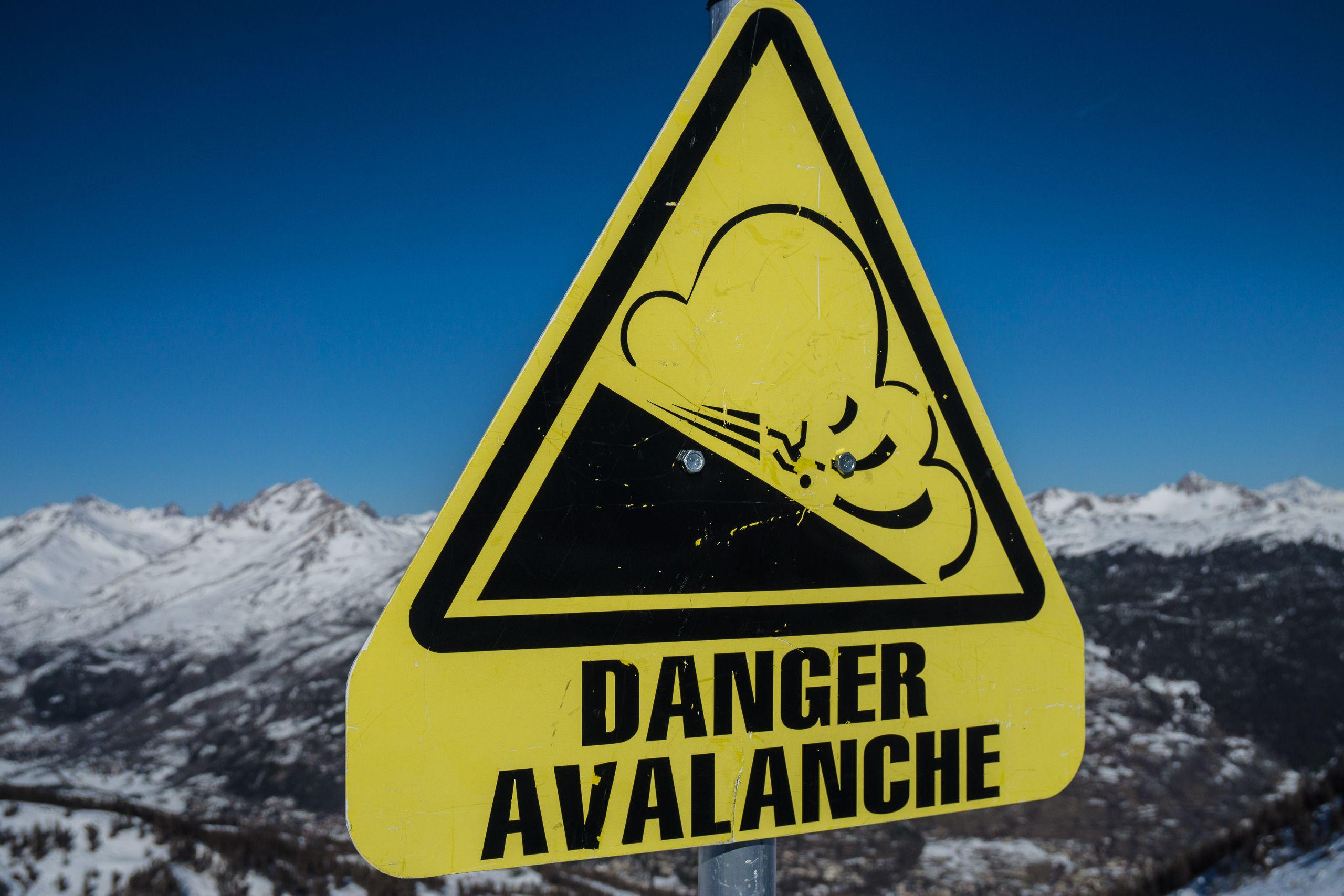 Let op: hoog lawinegevaar in de Alpen