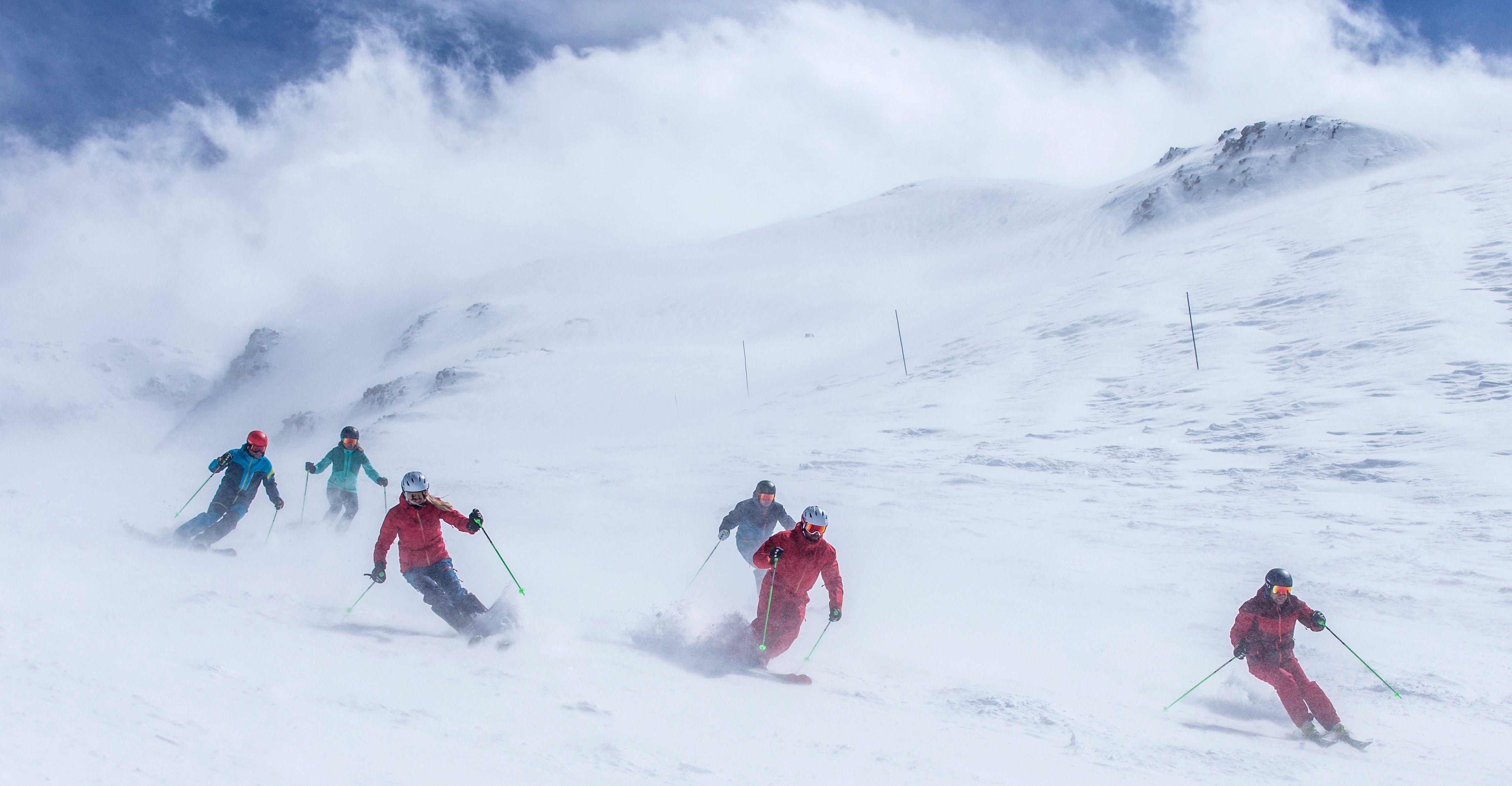 Nationale skitest piste: high end ski's Wintersport Weblog