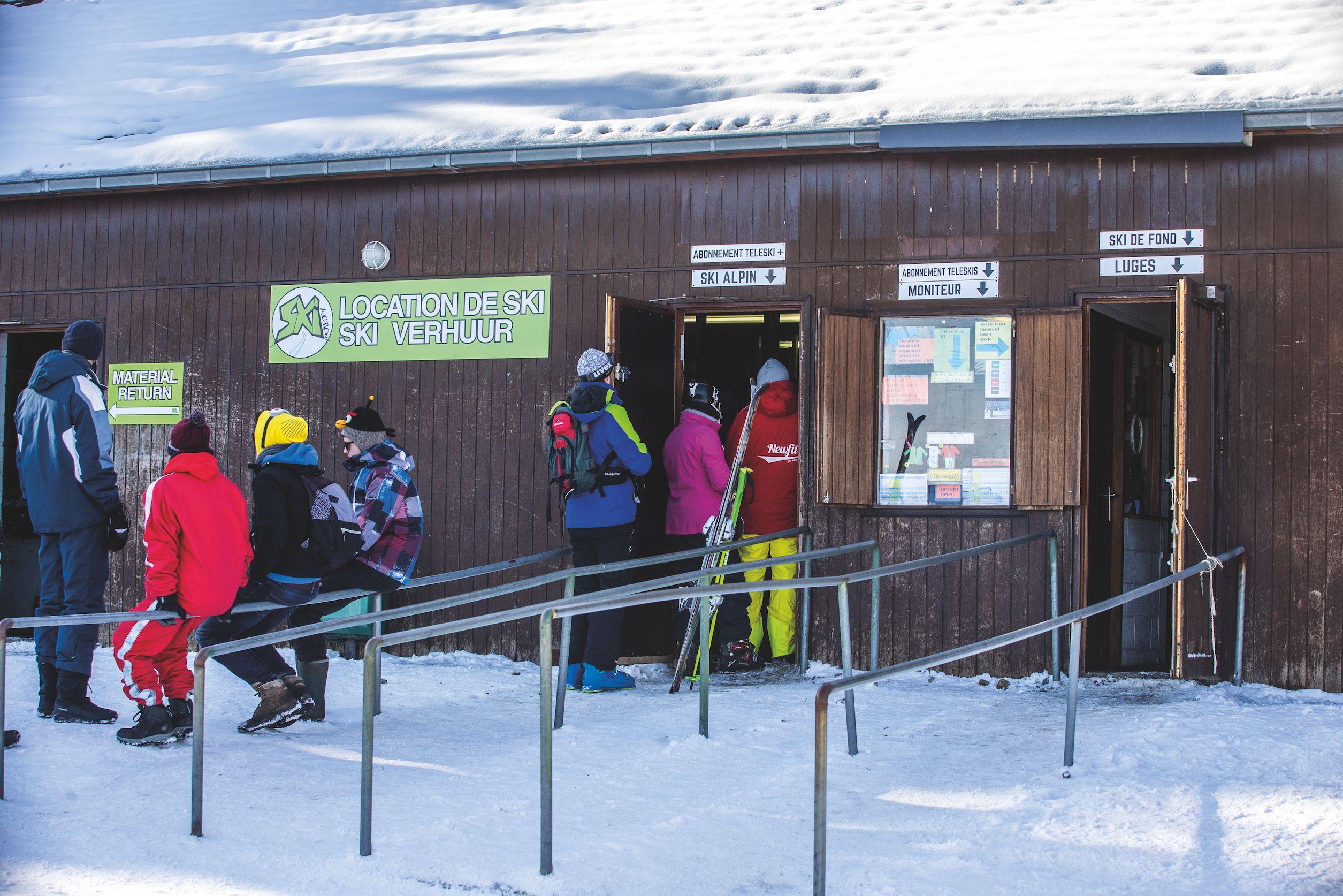 Baraque De Fraiture Beide Benen Op Belgische Grond Wintersport Weblog