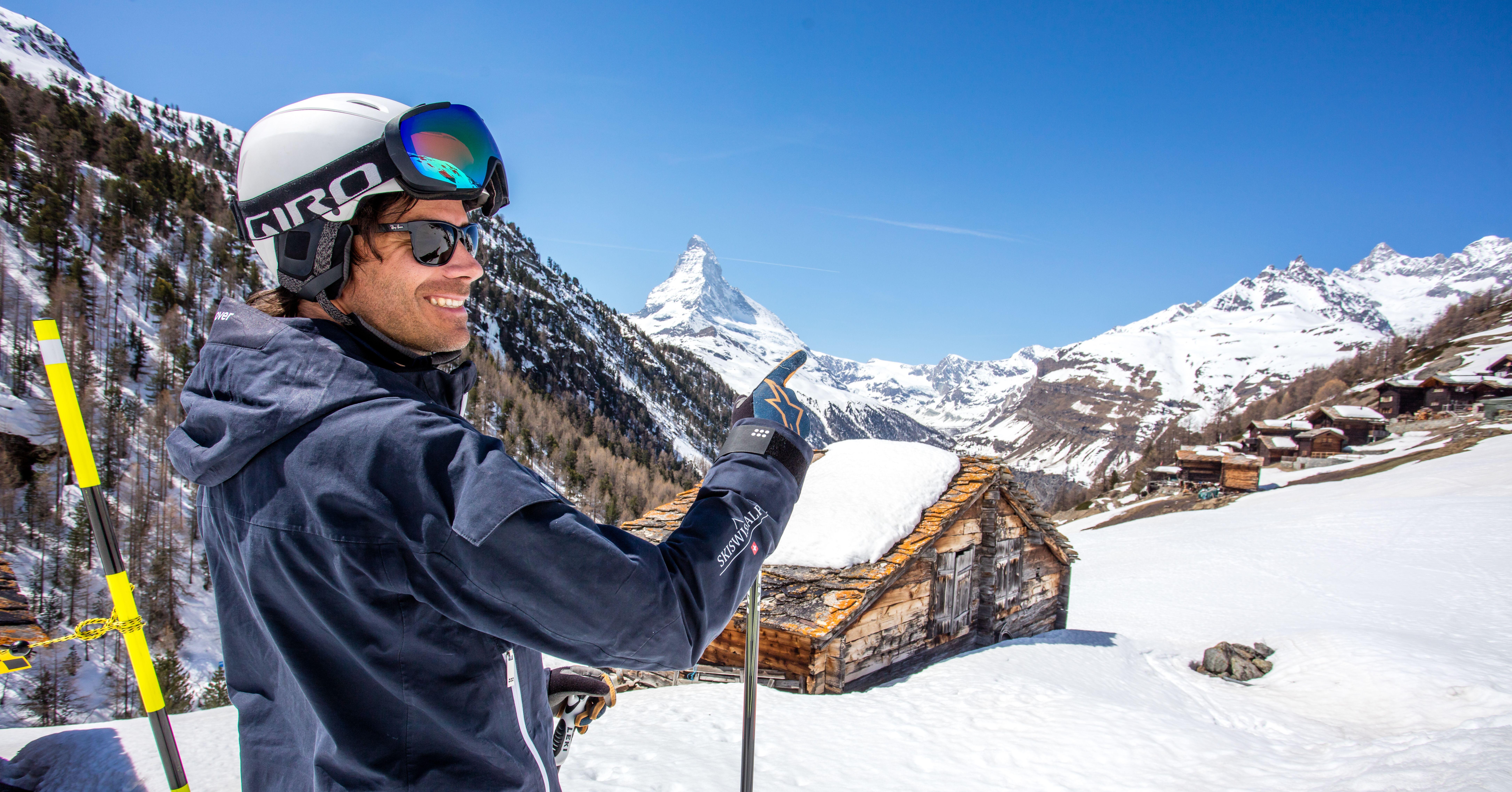 Belgen in het buitenland: Kristof in Zermatt