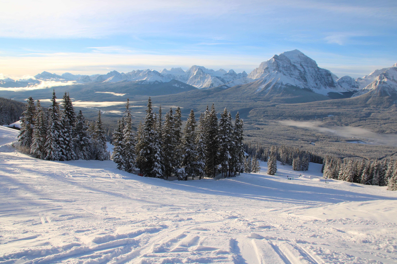 Wintersport in Canada: even wennen...
