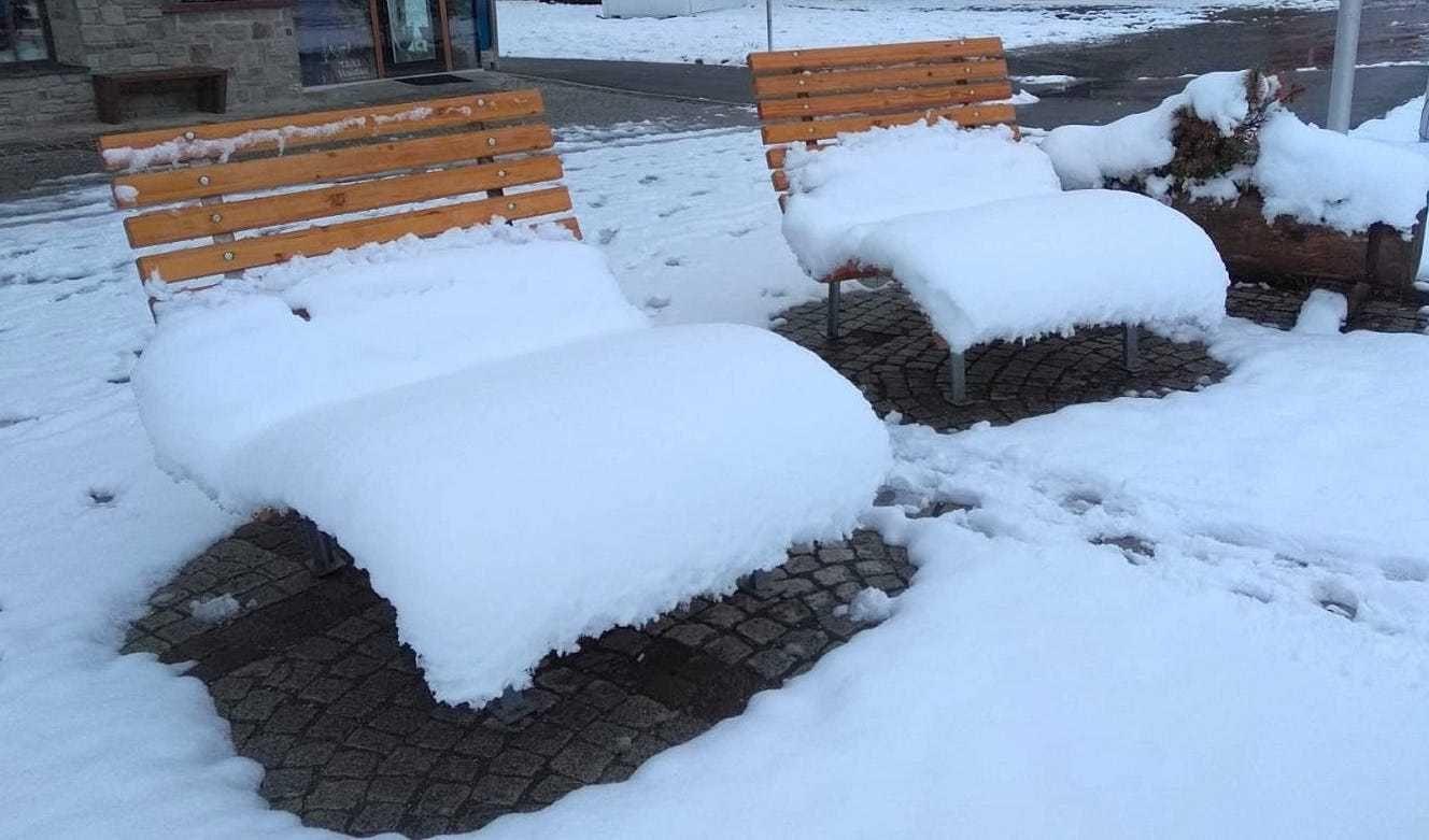 Typische septemberprik brengt sneeuw tot in hogere dalen