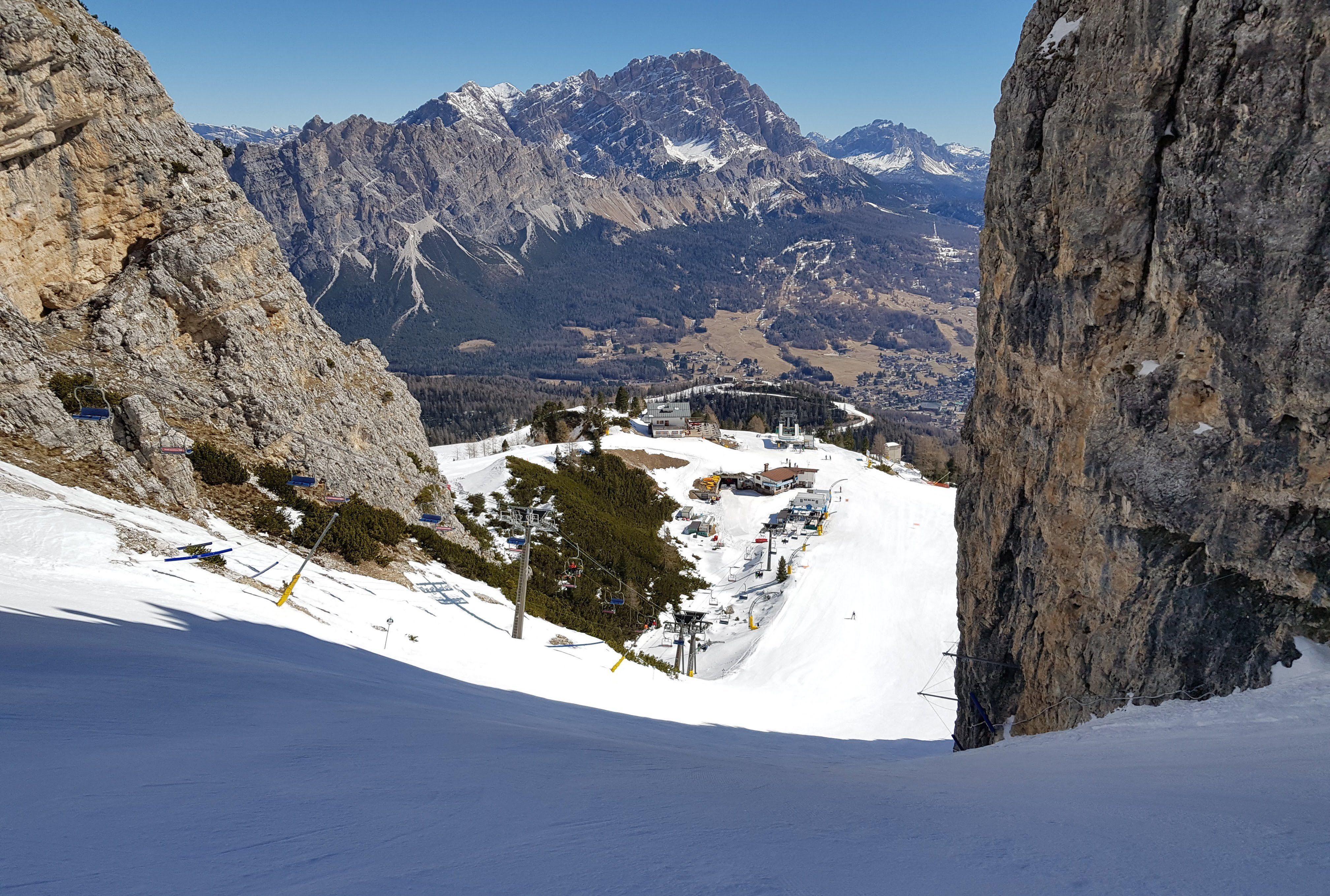 Wordt Cortina d'Ampezzo weer het mekka van de skisport?