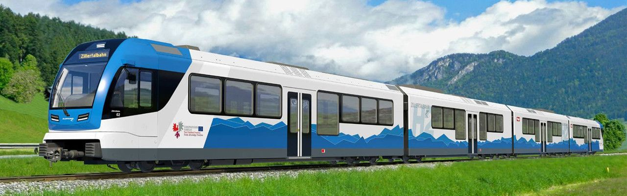 Waterstoftrein gaat verkeersdrukte in Zillertal te lijf