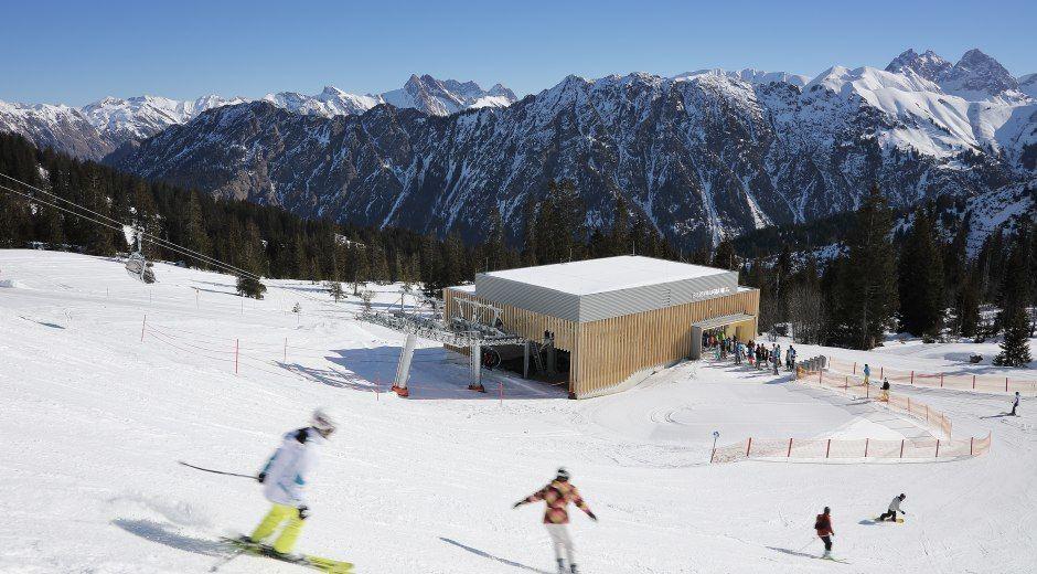 Complete renovatie van het deelgebied Söllereck in het Kleinwalsertal