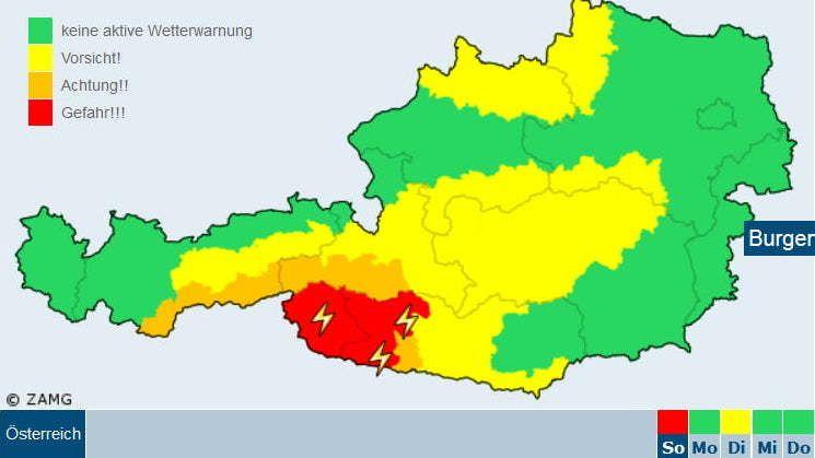 Liveblog: kritische weersituatie in Zuidalpen
