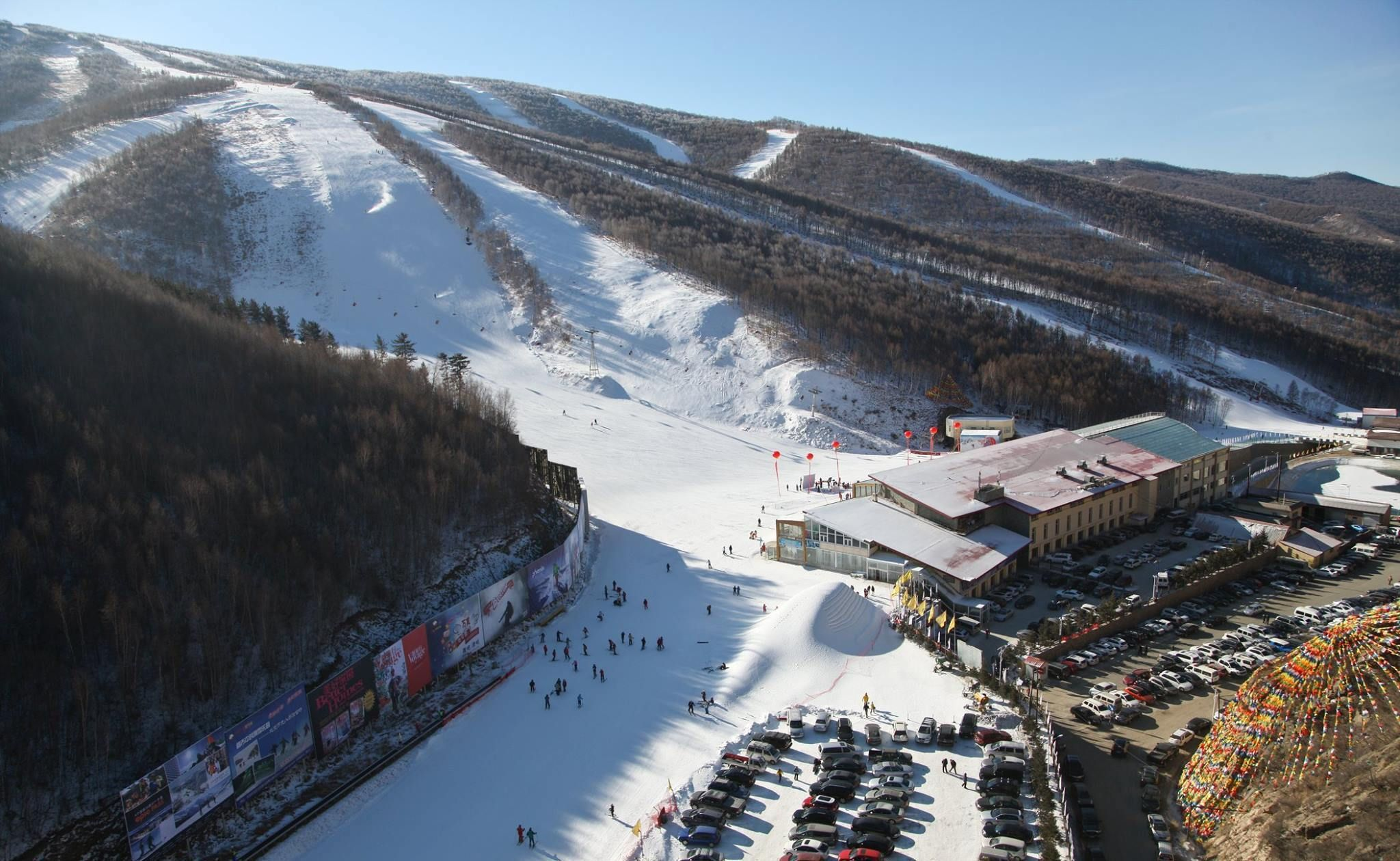 Wintersport in China: de olympische locaties