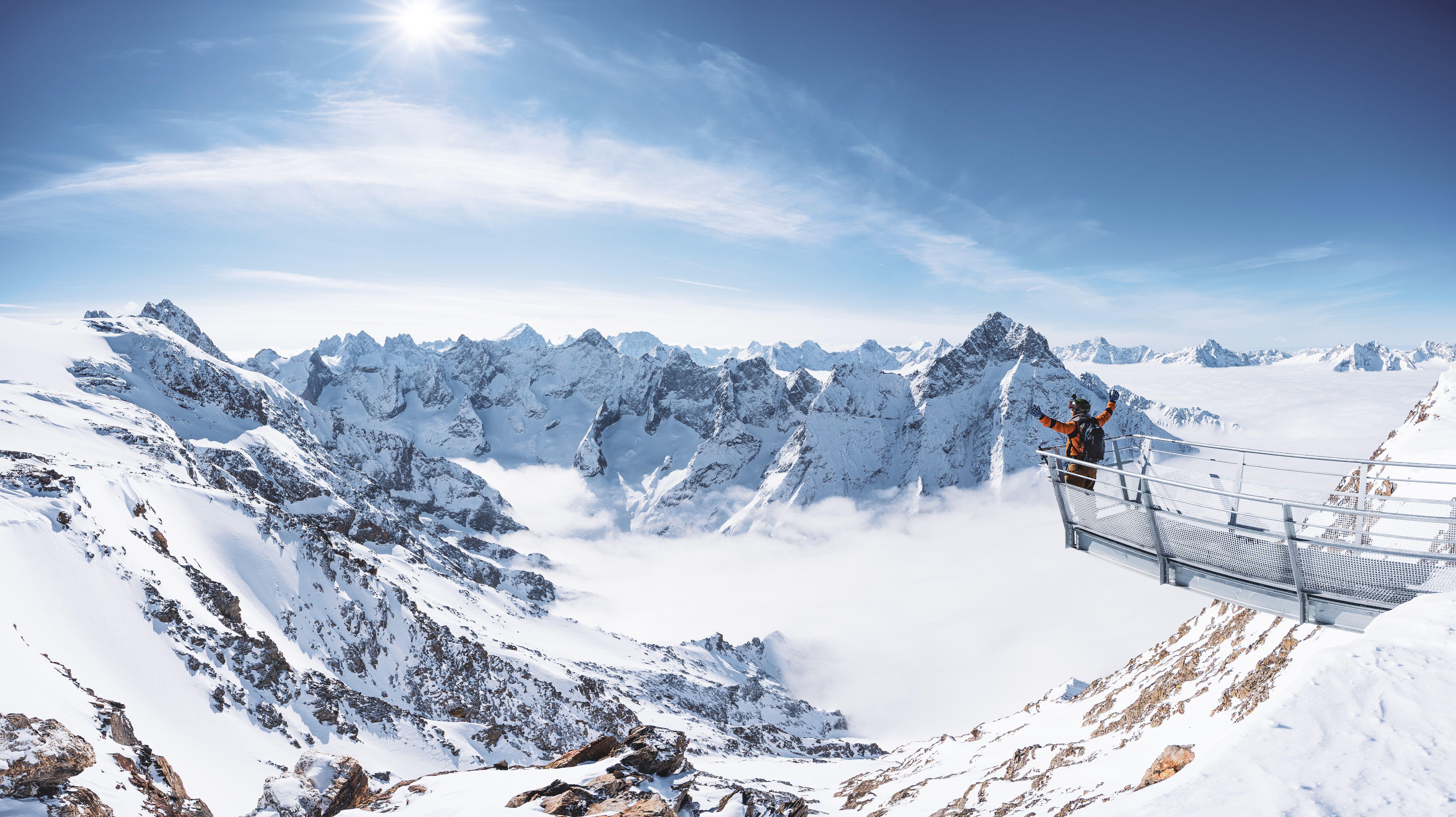 De beste skigebieden voor een voorjaarsski!