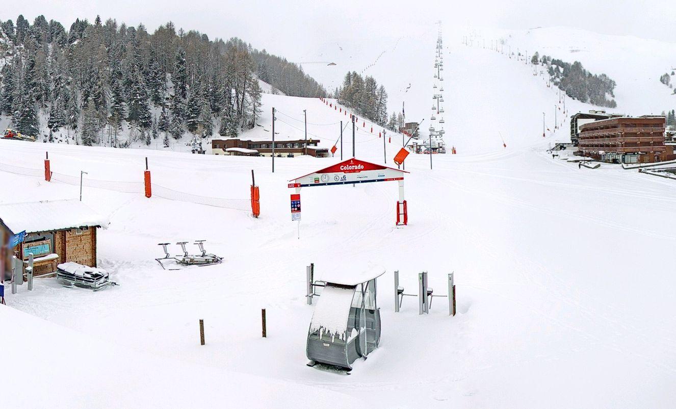 Grote vracht sneeuw onderweg, en duimen voor Oostenrijk