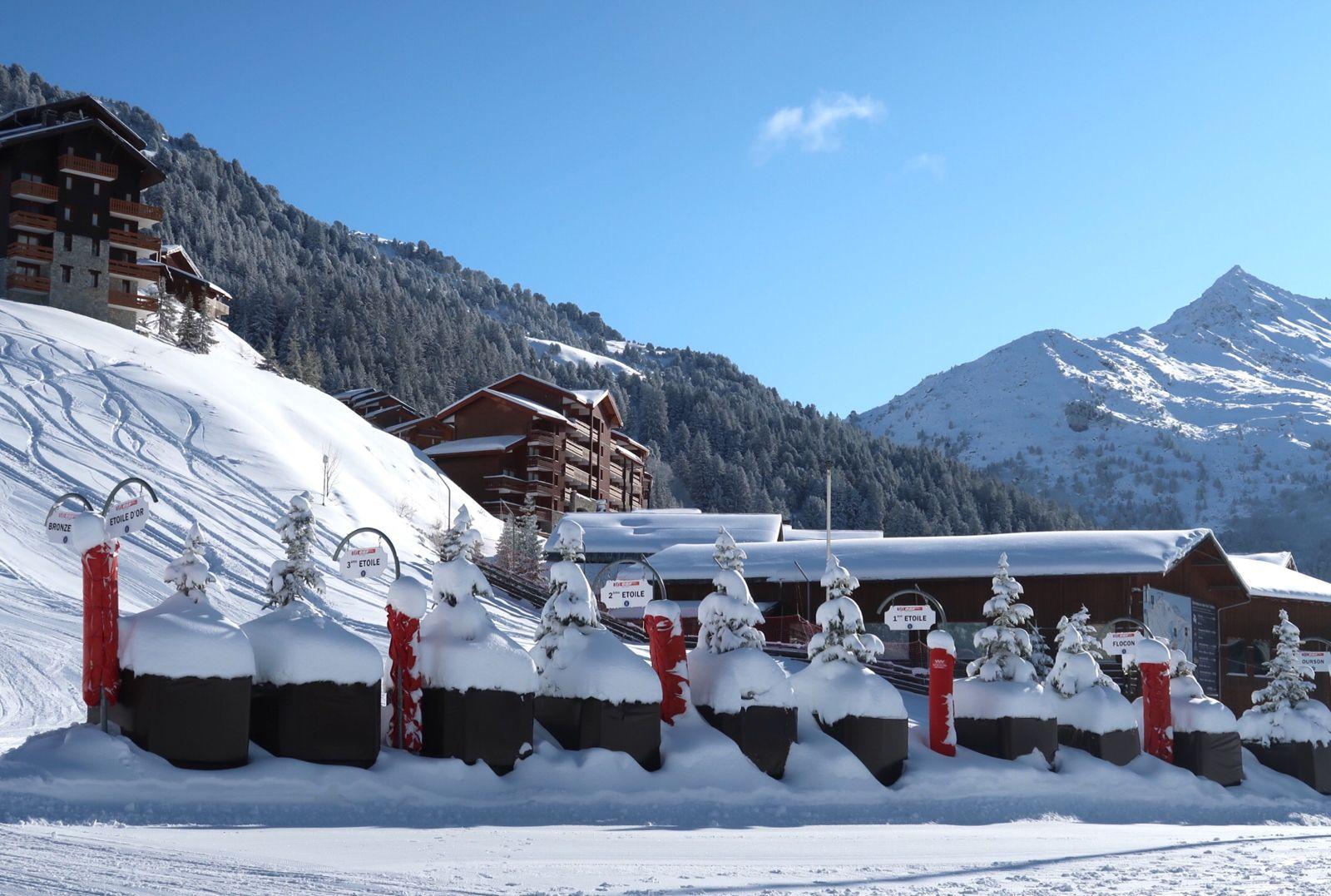 Live: verse sneeuw, zon en rustige pistes in Les Trois Vallées