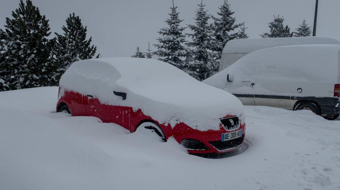 Live: sneeuwstorm in Les Menuires