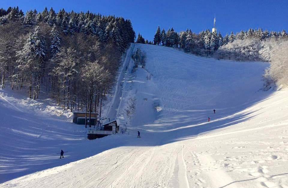 Skigebied Bad Sachsa in Harz dicht door gevaarlijke kever