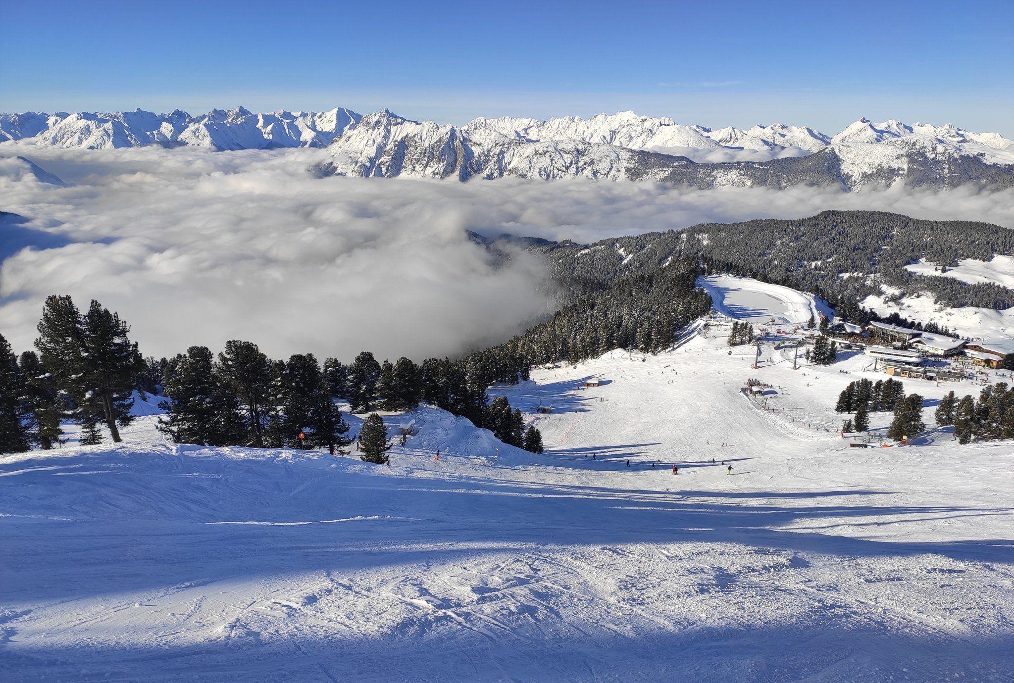 Alpengangers Getrakteerd Op Een Zonovergoten Week