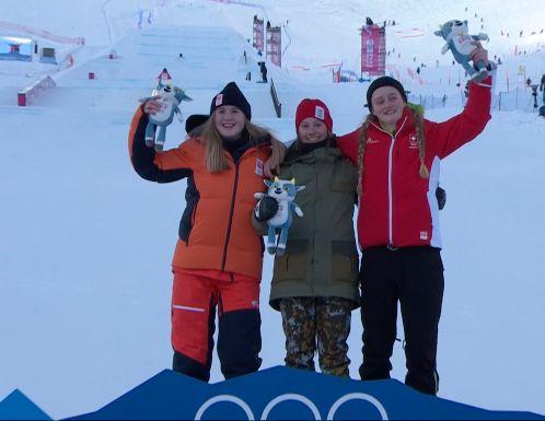Melissa Peperkamp wint slopestyle zilver op jeugd Olympische Spelen in Lausanne