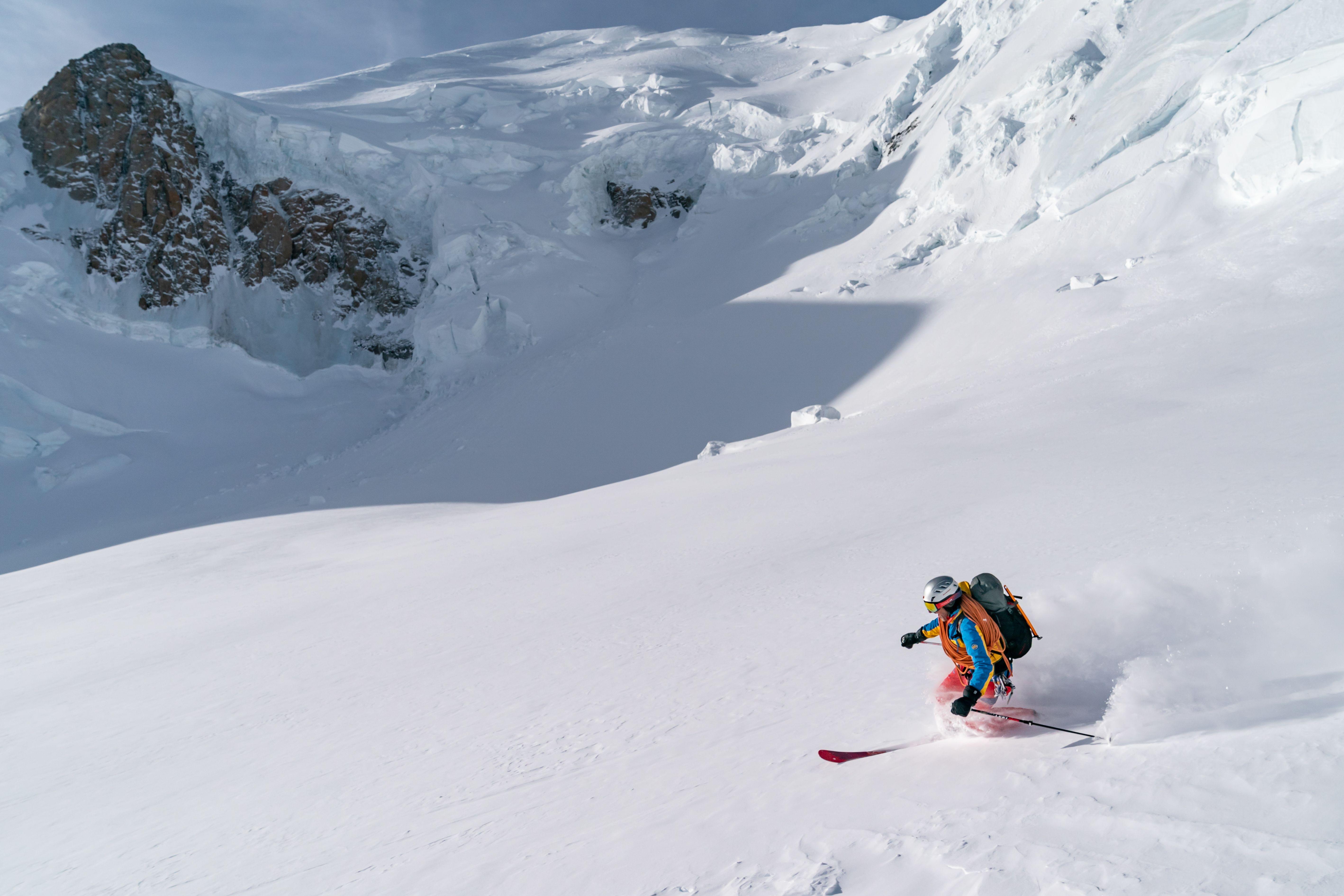 Retourtje Mont Blanc: skiën vanaf het dak van Europa
